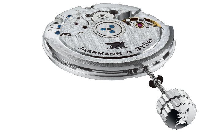 Jaermann & Stübi - The Timepiece of Golf - TECHNOLOGY: Movement