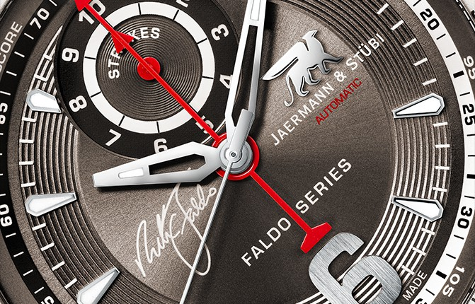 Faldo Series Watch NF1 Closeup
